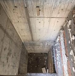 别墅电梯土建井道制作方法